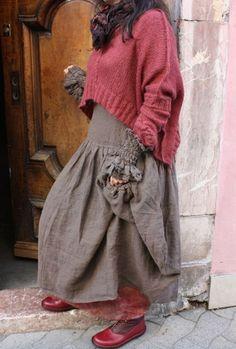 Бохо стиль в одежде вяжем
