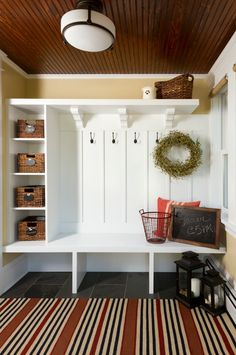 Who Needs A Mudroom? – The House that A-M Built