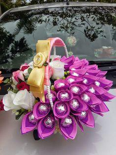 tips menghias hantaran pernikahan untuk coklat Candy Flowers, Paper Flowers Craft, Flower Crafts, Chocolate Wrapping, Chocolate Diy, Diy Bouquet, Candy Bouquet, Bouquets, Chocolate Flowers Bouquet