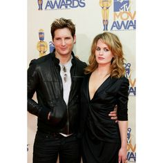 Peter Facinelli and Elizabeth Reaser ❤ liked on Polyvore