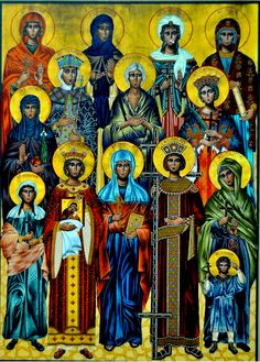 Handmaidens of the Lord icon