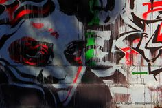 Face to face. Graffiti am Donaukanal in Wien. Graffiti, Vienna, Face, Painting, Pictures, Canvas, Painting Art, The Face, Paintings