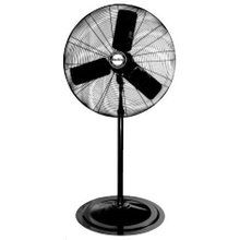 """View the Air King 9124 24"""" 5130 CFM 3-Speed Industrial Grade Pedestal Mount Fan at Air King @ VentingDirect.com."""
