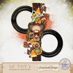 Scrapbooking TammyTags -- TT - Designer - Snickerdoodle Designs, TT - Item - Frame, TT - Style - Cluster