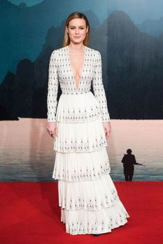 Brie Larson in a dress by Ralph & Russo Daily Style Directory - 28/02/2017 | British Vogue