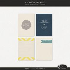 New beginning journal cards. Free.   https://www.facebook.com/SabrinaCreations/app_14167664298