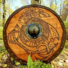 Custom Norse/Saxon Viking Shield | Etsy