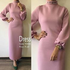 Islamic Fashion, Muslim Fashion, Modest Fashion, Fashion Dresses, Mode Abaya, Hijab Dress, Abaya Fashion, Simple Dresses, Clothes For Women