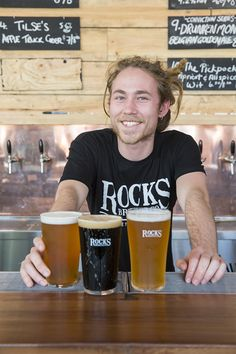 Alexandria gets even better with the addition of its very own brewery bar, Rocks Brewery and Bar Time Out, Brewing Company, Alexandria, Brewery, Rocks, Food And Drink, Tasty, Stones