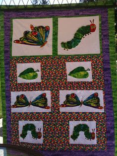 The Very Hungry Caterpillar teen quilt