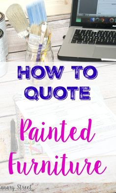 5 fantastic tips for anyone interested in buying furniture to paint and sell for profit.