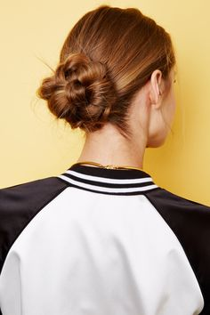 """2 Insanely Perfect Hairstyles To Try Now #refinery29  http://www.refinery29.com/long-hair-tips#slide15  """"By the time you're done pinning, it won't look like a braid anymore,"""" says Baker."""