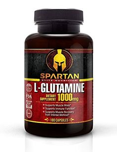 L-Glutamine Capsules 1000mg 180 Capsules Superior L-Glutamine Supplement for Optimum Muscle Recovery -- Check out this great product.