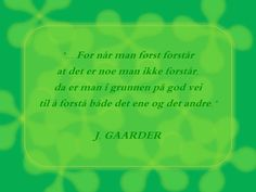 J. Gaarder i Kabalmysteriet
