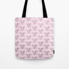 Buy Pig Tote Bag by chaploart. Worldwide shipping available at Society6.com. Just one of millions of high quality products available.