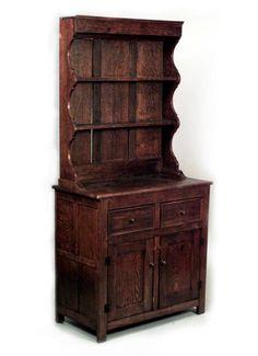 english country cabinetcase piece hutch oak antique english country armoire circa 1830s