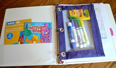 Just trying to remember activity binders, with pencil cases to add to the list.