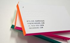 Carbure Business Cards