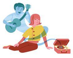 Music Lover Print