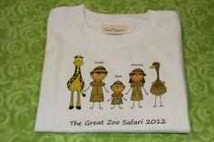 Disney Family Animal Kingdom or Zoo Safari Shirt ALL by JeniMadeIt, $18.00