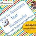 Problem: Annotating text is a key part of Common Core and a skill that needs to be developed with my students. They don't always remember all the a...