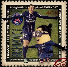 ⚽️ Futbol Stars 2013 @soegimitro - Zlatan Ibrahimovic Minion