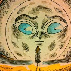 La luna de Alfonsina