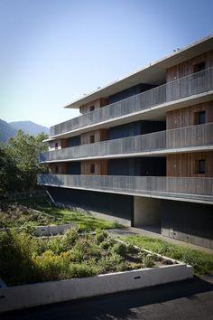 Logements Jean Durroux - archicontemporaine.org - Le panorama en images du Réseau des maisons de l'architecture
