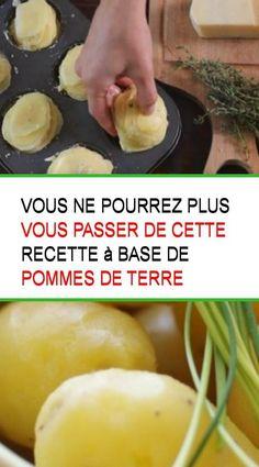 Vous ne pourrez plus vous passer de cette recette à base de pommes de terre #Pommesdeterre #Pomme #Recette #Pommes #Passe #Passer #Terre