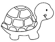 turtle pattern i - Drawings For Kids To Color