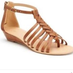Apt 9 Brown Strappy Sandals