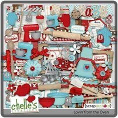 Friday Freebie! Summer Lovin' | Digital Scrapbooking Freebies - Chelle's Creations | Chelle's Creations