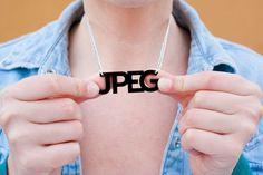 Jpeg Necklace