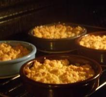 Recette - Crumble aux pommes - Notée 4.2/5 par les internautes
