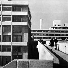 """fuckyeahbrutalism: """"University of East Anglia, (Denys Lasdun) """" Exam Photos, University Of East Anglia, Building Sketch, Arch Architecture, University Life, Brutalist, Concrete, Buildings, Street View"""