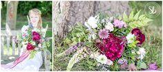 Huntingdon Wedding Photography featured in Village bystander advert with Kym Cuts Kimbolton Milk Churn, Farm Shop, Wedding Blog, Glass Vase, Floral Wreath, Wedding Photography, Table Decorations, Floral Crown, Wedding Photos