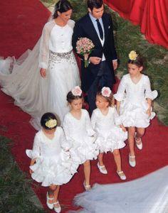 Pajes en bodas flamencas en *Con B de Boda* http://conbdeboda.blogspot.com.es