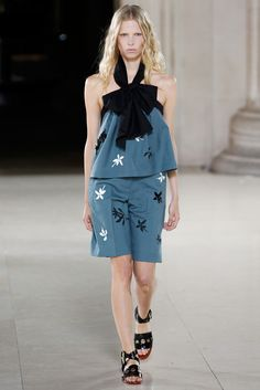 Jonathan Saunders Spring 2015 Ready-to-Wear Fashion Show
