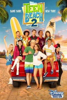 """Join Brady (Ross Lynch) and Mack's (Maia Mitchell) in the all new Disney Channel Movie, Teen Beach premiering June They survived their last encounter with the """"Wet Side Story… Stars Disney Channel, Disney Channel Movies, Disney Channel Original, Original Movie, Annie Original, Ross Lynch, Maia Mitchell, Disney Challenge, Film Disney"""
