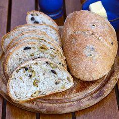 Sneaky Lemon: (Yummy Yummy) Olive Bread