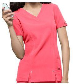 Dickies Xtreme STRETCH Scrubs V-Neck Scrub Top Style # D82851  #uniformadvantage #uascrubs #adayinscrubs #scrubs #scrubtop #Dickies #Dickiesscrubs #XtremeSTRETCH