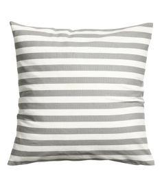 grey stripe pillows