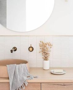 "ABI Bathrooms & Interiors on Instagram: ""We're going to save this one to the ""Perfect Bathroom"" inspo file!! If you've seen any of our Flatlay's recently, you know we're crushing…"""