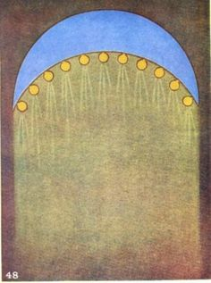 Helpful Thoughts | illustrated in Thought-Forms by Annie Besant & C.W. Leadbeater ☄