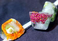 Цветочный лед (мастер-класс)