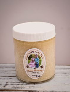 raw Vermont wildflower honey creamed honey by FaheyFamilyHoneyFarm