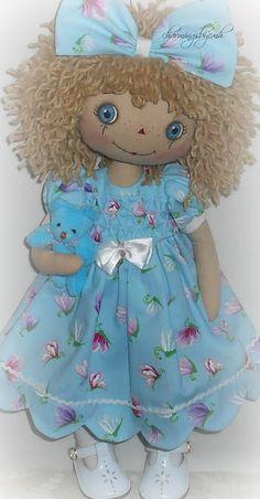 Summer Butterfly Annie by charmingsbycmh Scarecrow Doll, Sweet Annie, Ugly Dolls, Scarecrows, Sewing Dolls, Raggedy Ann, Rag Dolls, Handmade Dolls, Stuffed Animals