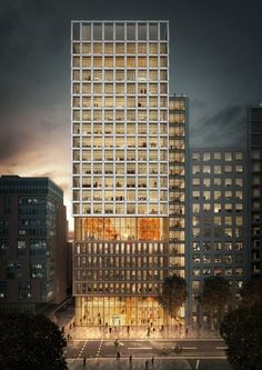 Gallery of PLP Architecture's Proposed Office Building Responds to London's Historic Urban Identity - 1