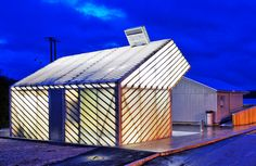 Norway's Jektvik Ferry Quay Area is an Efficiently Built Daylit Building