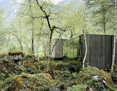 Rasmus Norlander photograph of Juvet landskaphotell in Norway for JSA and Wallpaper.